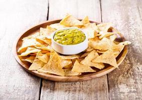 Nachos mit Guacamole foto