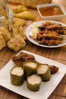 Lemak Lemang, malaiisches Essen während des Festivals von Hari Raya