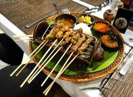 indonesischer Satay foto