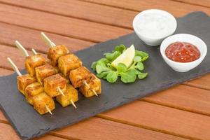 Paneer Tikka Kebab foto