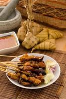Satay traditionelle malaiische Lebensmittel