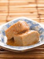 Chili fermentierter Bohnengallerte Tofu foto
