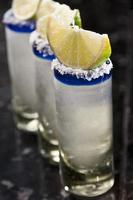 drei Tequila-Aufnahmen