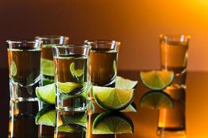 Tequila und Limette