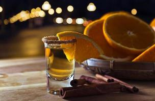 goldener Tequila foto
