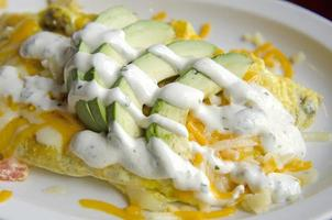 Kalifornisches Omelett foto