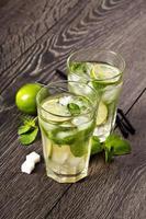 Sommer kaltes Cocktailgetränk Mojito