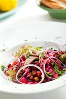 russischer Salat foto