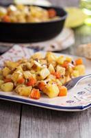 Apfel-Wurzel-Gemüse-Hasch foto
