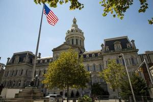 Rathaus von Baltimore Maryland foto