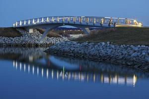 Brücke in Milwaukee foto