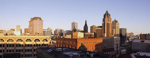Panorama von Milwaukee foto