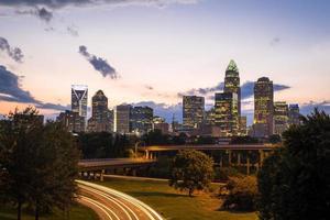Charlotte, North Carolina Sonnenuntergang 5 foto