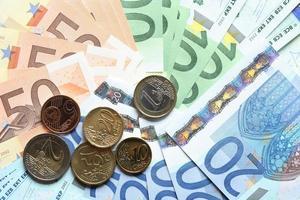 Währung der Europäischen Union foto