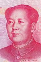 China Yuan Geld. chinesische Währung foto