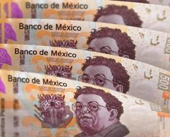 unscharfer Peso Hintergrund foto