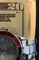 Zeit ist Geld Geschäftskonzept foto