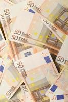 Cannabispflanze und Euro-Geld foto