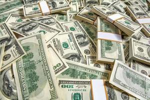 Packung Dollar foto