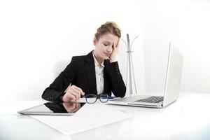 junge Geschäftsfrau foto