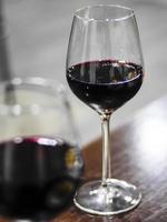 copas de vino foto