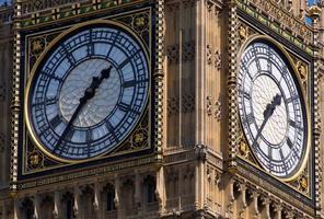 Big Ben Uhr foto