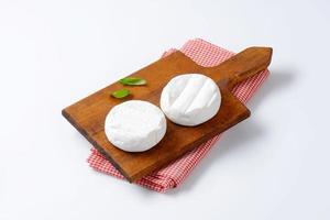 weich gereifter Käse foto