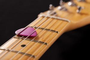 Gitarre und Pick