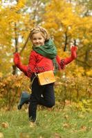 nettes kleines Mädchen foto