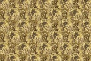 uns Ein-Dollar-Münzen foto