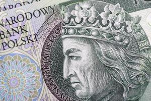 banknote 100 pln - polnisch zloty foto