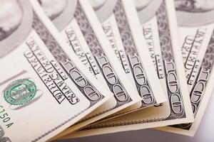 Geld Nahaufnahme mit Makroobjektiv schießen