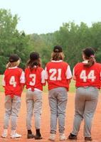 Baseball-Teammitglieder foto