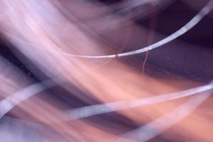 abstrakte Textur: Cooper Kabel defokussiert, Hintergrund Hintergrund foto