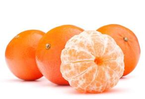 Mandarine oder Mandarine foto