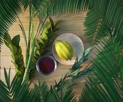 Symbole des jüdischen Feiertags Sukkot foto