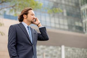 eleganter Geschäftsmann foto