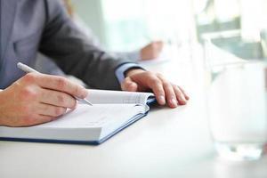 Notizen oder Plan schreiben