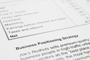 Geschäftsstrategie foto