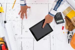 Technologie in der Architektur foto
