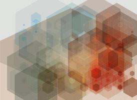 abstrakter technologischer Hintergrund. foto
