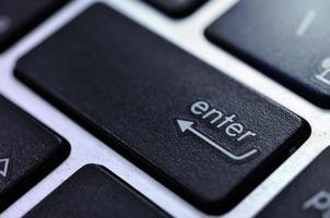 Taste der Tastatur foto