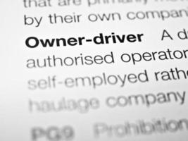 Besitzer-Fahrer