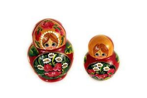 zwei russische Puppen foto