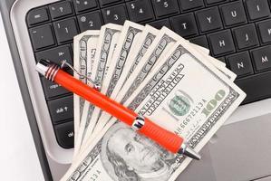Online-Marketing und Business foto