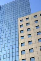 blaues Gebäude foto