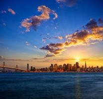 Skyline von San Francisco foto