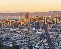 Innenstadt von San Francisco foto