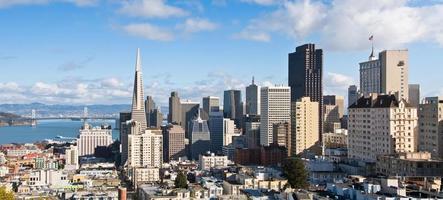 San Francisco, Kalifornien Panorama foto