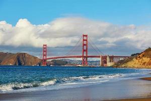 Golden Gate Bridge in San Francisco, Kalifornien, USA foto